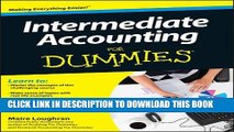 [PDF] Intermediate Accounting For Dummies Popular Colection