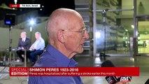 Rafi Walden, Shimon Peres' doctor, talks about Peres