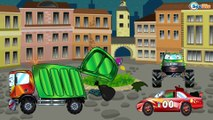 Dessin animé pour les enfants | Véhicules - Voiture de course | Voiture pour enfants en français