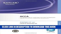 [PDF] F7 Financial Reporting FR (INT) - Complete Text: ACCA paper F7 INT Popular Colection