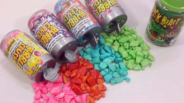 Drinks Gum Toilet Candy, Sour Candy Spray Learn Numbers Counting Play Doh Surprise Eggs Pez