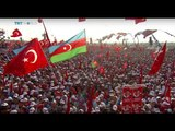 Turkey United: Millions gather for democracy rally in Istanbul, Andrew Hopkins reports