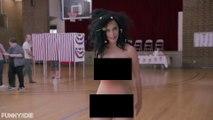 Katy Perry promueve el voto desnuda y Madonna se suma apoyando a Hillary Clinton