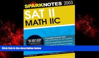 READ book  SAT II Math IIc (SparkNotes Test Prep)  DOWNLOAD ONLINE