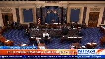 Senado de EE.UU. aprueba eliminar veto de Obama a ley sobre víctimas del 11-S
