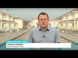 Thousands of Meskhetian Turks heading for Turkey, Andrew Hopkins reports