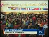 Correa inaugura Encuentro Latinoamericano Progresista