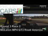 Project Cars Career | US GT3 Championship | McLaren MP4 12C GT3 | Round 3 Race 2 Road America