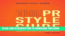 [PDF] The PR Styleguide: Formats for Public Relations Practice Popular Collection