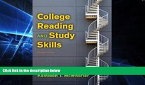Big Deals  College Reading and Study Skills (12th Edition)  Best Seller Books Best Seller