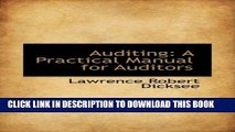 [PDF] Auditing: A Practical Manual for Auditors Full Online
