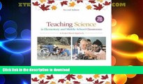 READ  Teaching Science in Elementary and Middle School Classrooms:  A Project-Based Approach