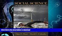 READ  Social Science: An Introduction to the Study of Society (14th Edition) FULL ONLINE