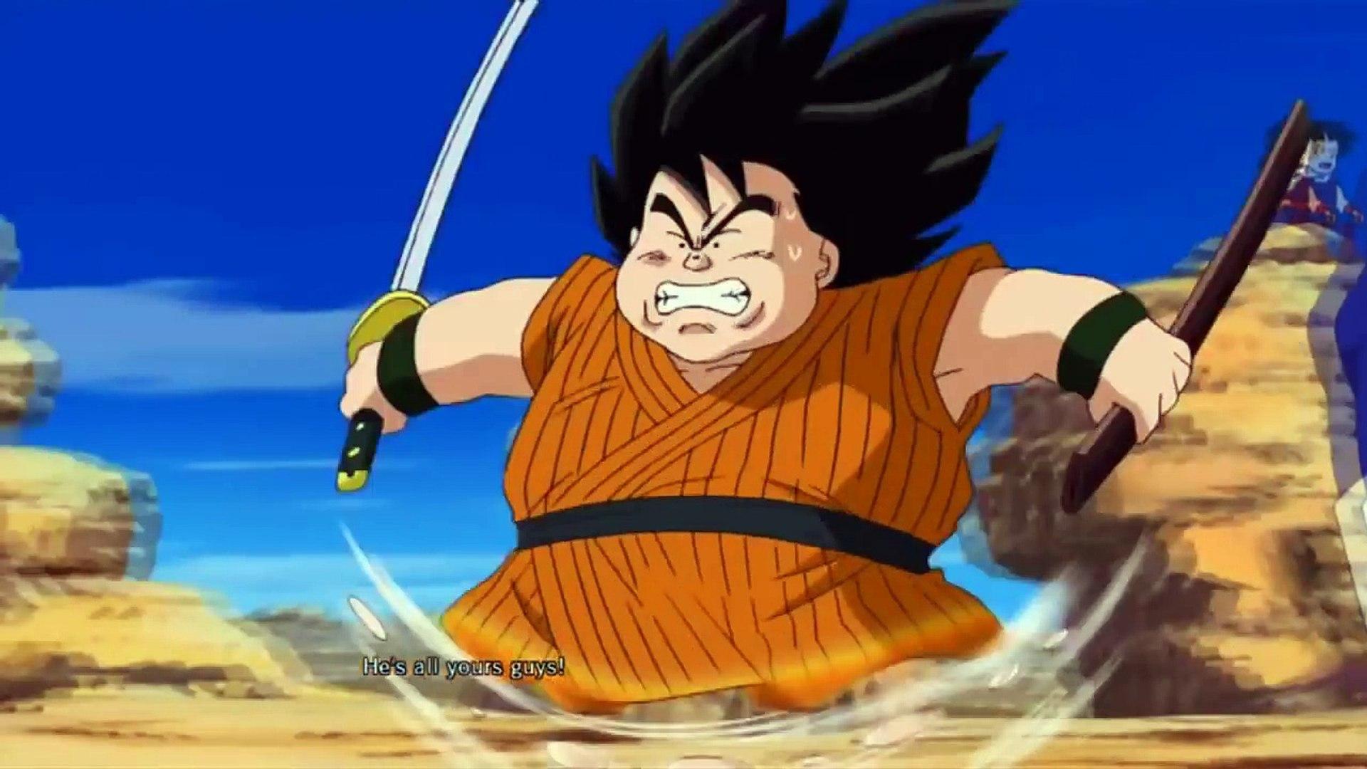 Dragon Ball Z Yajirobe Cuts Off Vegeta S Tail Ultimate Tenkiechi