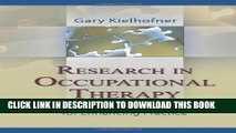 Collection Book Research in Occupational Therapy: Methods of Inquiry for Enhancing Practice