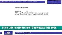 [PDF] EDV-gestützte Unternehmensführung auf der Basis von Kennzahlen: Die Erstellung eines