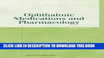 Collection Book Ophthalmic Medications and Pharmacology (Basic Bookshelf for Eyecare Professionals)