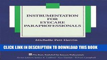 New Book Instrumentation for Eyecare Paraprofessionals (The Basic Bookshelf for Eyecare