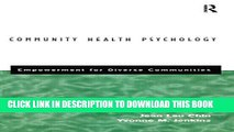 [PDF] Community Health Psychology: Empowerment for Diverse Communities Full Collection