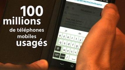 79e4d8e3e6f 100 millions de téléphones portables usagés   l urgence d une stratégie