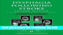 New Book Dysphagia Following Stroke (Clinical Dysphagia)