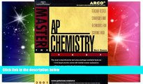 Big Deals  Arco Master the Ap Chemistry Test 2001: Teacher-Tested Strategies and Techniques for