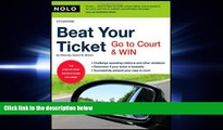 book online  Beat Your Ticket: Go to Court   Win (5th edition)