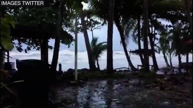 Martinique : la tempête Matthew fait des dégâts