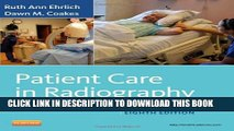 [PDF] Patient Care in Radiography: With an Introduction to Medical Imaging, 8e (Ehrlich, Patient