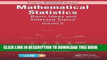 [PDF] Mathematical Statistics: Basic Ideas and Selected Topics, Volume II Popular Collection