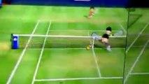 Des joueurs de tennis professionnels sur Wii Sport