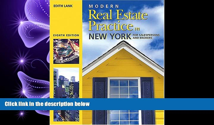 FAVORITE BOOK  Modern Real Estate Practice in New York (Modern Real Estate Practice in New York