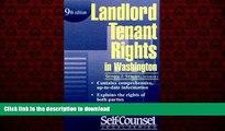 PDF ONLINE Landlord/Tenant Rights Washington (Landlord/Tenant Rights in Washington) READ PDF BOOKS