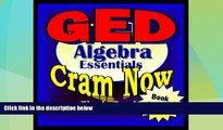 Big Deals  GED Prep Test ALGEBRA REVIEW Flash Cards--CRAM NOW!--GED Exam Review Book   Study Guide