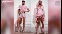 """Rihanna présente son défilé pour Puma: """"du Marie-Antoinette à la salle de sport"""""""