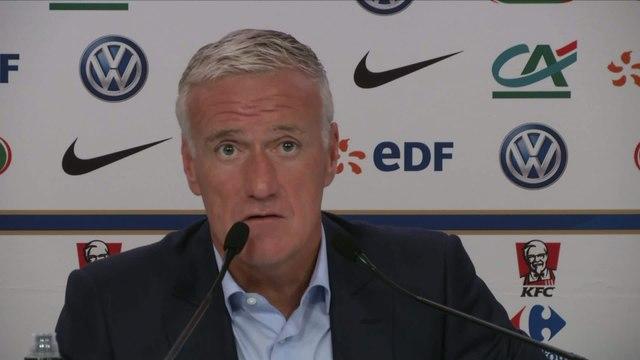 Foot - CM 2018 (Q) - Bleus : Deschamps commente l'absence de Giroud