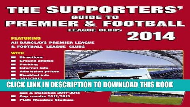 [PDF] The Supporters  Guide to Premier   Football League Clubs 2014 Popular Colection