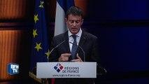 Manuel Valls annonce la fin des dotations d'Etat aux régions