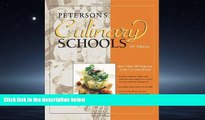 Enjoyed Read Culinary Schools (Peterson s Culinary Schools)