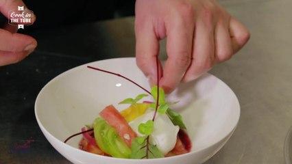 Burrata, tomates à l'ancienne - Recette italienne