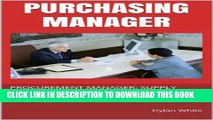[PDF] PURCHASING MANAGER: PROCUREMENT MANAGER: SUPPLY CHAIN PROFESSIONAL: LAST-MINUTE BOTTOM LINE