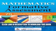 [PDF] Mathematics Formative Assessment, Volume 1: 75 Practical Strategies for Linking Assessment,
