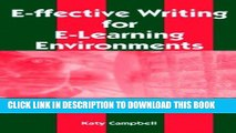 Collection Book E-Ffective Writing for E-Learning Environments