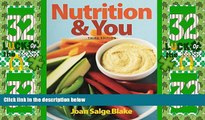 Big Deals  Nutrition   You   Modified MasteringNutrition with MyDietAnalysis with Pearson eText --