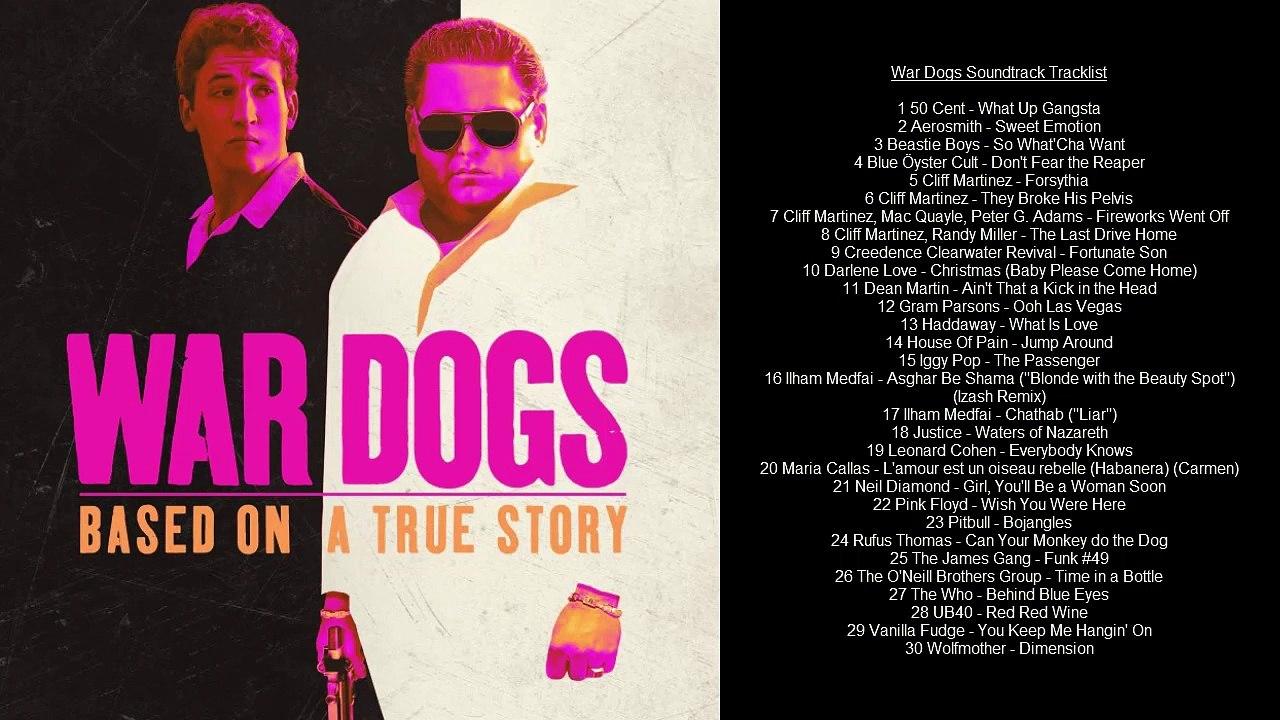 War Dogs Soundtrack Tracklist