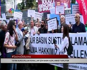 Taksim'den 'Bu karanlığı omuz omuza yırtacağız' mesajı
