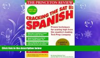different   Cracking the SAT II: Spanish Subject Tests, 1998 ED (Annual)