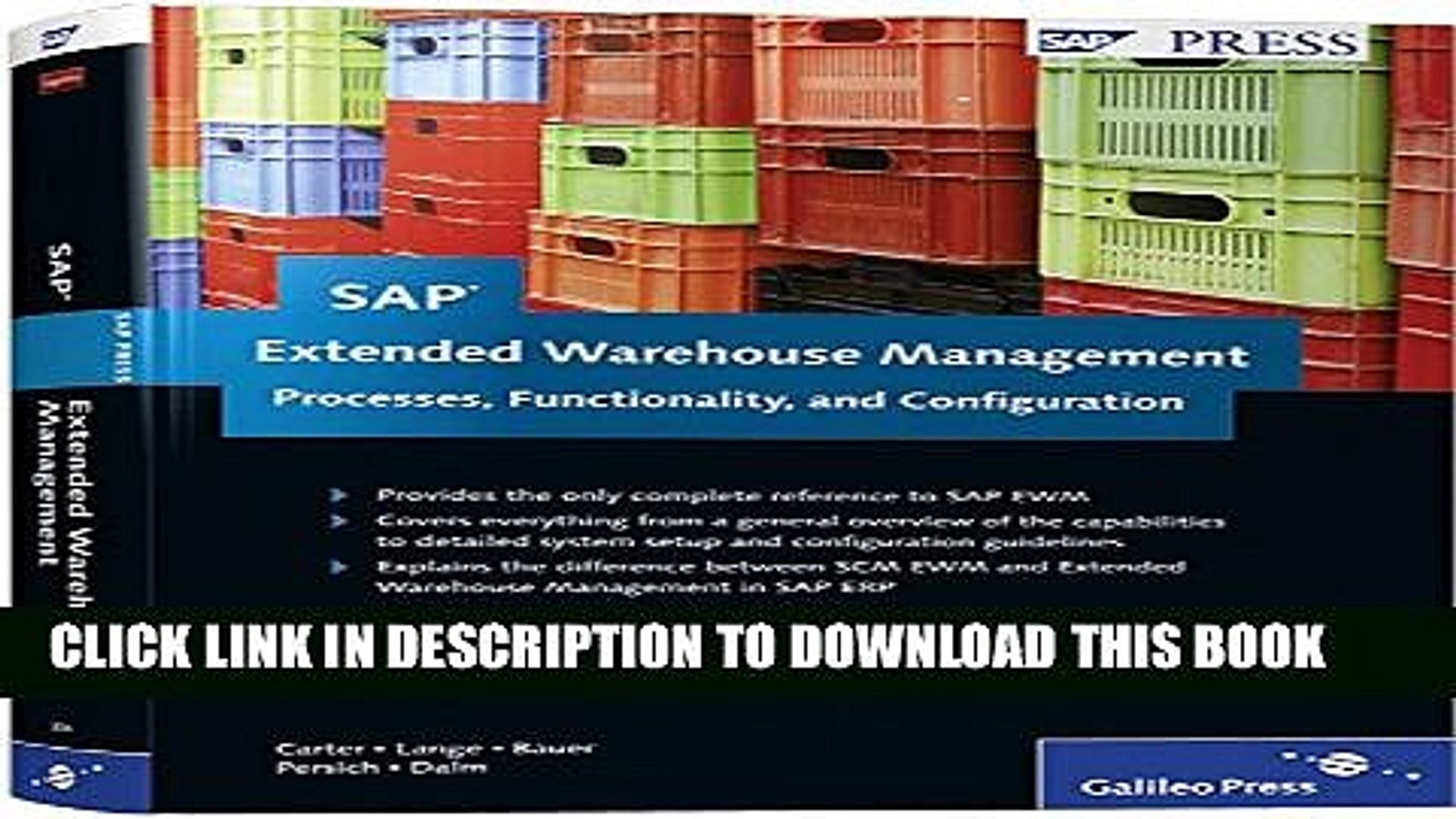 [PDF] SAP Extended Warehouse Management: Processes, Functionality, and  Configuration Popular Online