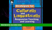 complete  Strategies for Culturally and Linguistically Responsive Teaching and Learning - Strategy
