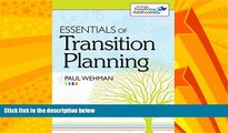 Big Deals  Essentials of Transition Planning  Best Seller Books Most Wanted